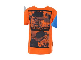 Orange t-shirt  tiger 134/140