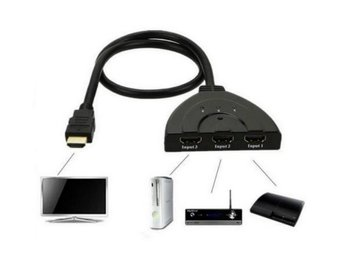 HDMI SWITCH 3 till 1 port