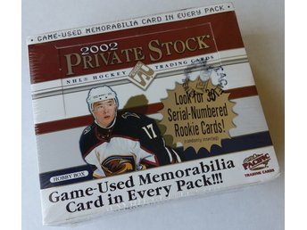 2001/2002 Pacific Private Stock Hobby Box