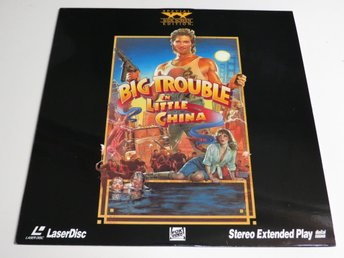 BIG TROUBLE IN LITTLE CHINA (Laserdisc) Kurt Russell
