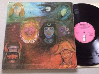 Lp King Crimson-In the wake of Poseidon  very rare uk org på Pink Island