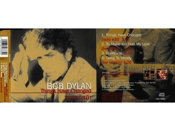 CD Bob Dylan Things have Changed Maxi