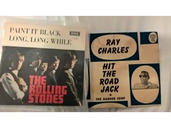 "Rolling Stones  "" Paint it Black"", Ray Charles"" Hit the road Jack"""