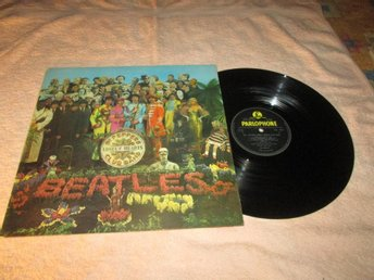 BEATLES SGT PEPPERS LONELY HEART CLUB BAND    UK