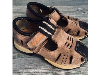 KAVAT Sandaler beigesvart 24 läder (398212446) ᐈ Köp på