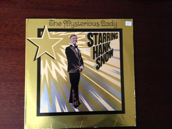 Hank Snow - the Mysterious lady - Lp