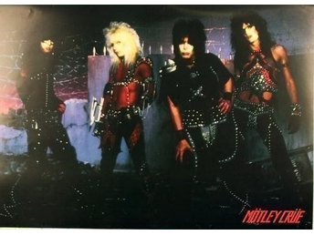 MÖTLEY CRÜE - 80´s Classic Image HELT NY POSTER Affisch