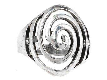 17,1 ÄKTA 925 SILVER MODERN STÄMPLAD RING silverring - Stockholm - 17,1 ÄKTA 925 SILVER MODERN STÄMPLAD RING silverring - Stockholm