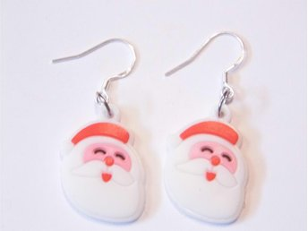 Jultomten örhängen / Santa earrings