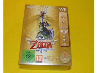 Zelda Skyward Sword  - Limited Edition WII NYTT