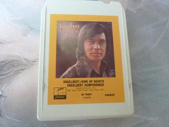 ENGELBERT HUMPERDINCK, ENGELBERT / KING OF HEARTS,  KASSETTBAND, 8-TRACK