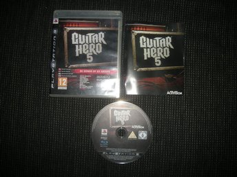 PS3 Guitar Hero 5
