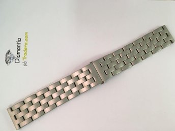 22 mm -- NYTT -- rejäl länk i rostfritt stål -- klockarmband -- klocklänk - Boliden - 22 mm -- NYTT -- rejäl länk i rostfritt stål -- klockarmband -- klocklänk - Boliden