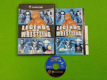 Legends of Wrestling ENGELSK UTGÅVA KOMPLETT GameCube Game Cube