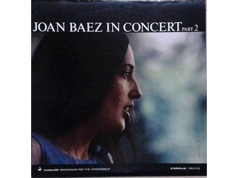 Joan Baez title* In Concert Part 2* Folk Rock LP US