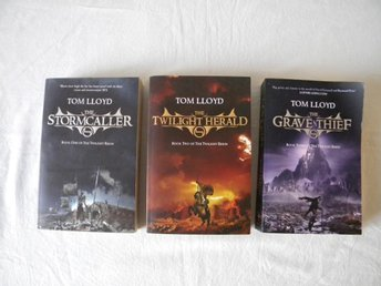 Tom Lloyd The Twilight Reign 1-3 Pockets Engelska Fantasy