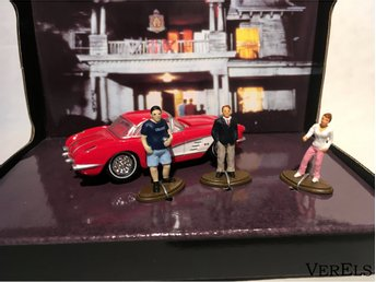 1:64 Deltagänget, Animal House, 1965 Chevrolet Corvette Greenlight Diorama