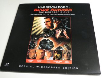 BLADE RUNNER: THE DIRECTOR'S CUT (Laserdisc) Harrison Ford
