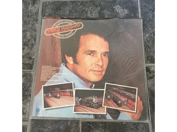 MERLE HAGGARD - MY LOVEAFFAIR WITH TRAINS. (LP)