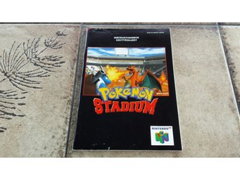 Pokemon Stadium Nintendo 64 Manual Bergsala