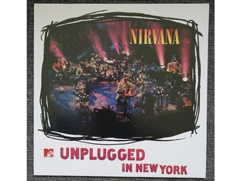 "nirvana ""unplugged"" (LP) mint"