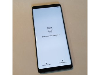 Samsung Galaxy Note 8 64GB SVART OLÅST