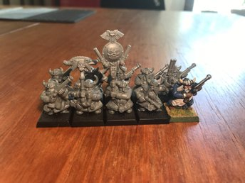 DWARF THUNDERERS Warhammer- age of sigmar - Kings of war