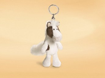 Nyckelring Nici Vit häst Gosedjur Mjukdjur (343380356) ᐈ Köp på Tradera 1ab9b60f2a206