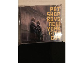 CDs Pet shop boys, New York city boy, (2438877240)