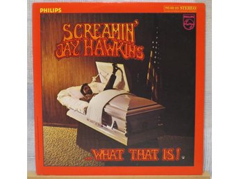 SCREAMIN JAY HAWKINS :: WHAT THAT IS !   (LP) US Orig