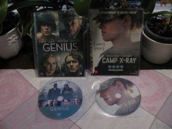 2 Dramafilmer-Camp X-ray och Genius.