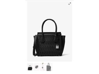 044786904830 Helt ny-MK-Mercer Studio Woven Leather Crossbody (341097572) ᐈ Köp ...
