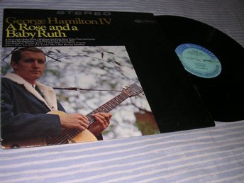 George Hamilton IV - A Rose and a Baby Ruth (LP) Ty 1968 EX