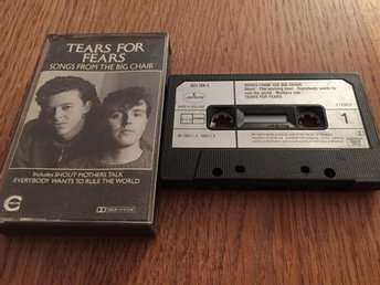 TEARS FOR FEARS - SONGS FROM THE BIG CHAIR - KASSETTBAND - önnestad - TEARS FOR FEARS - SONGS FROM THE BIG CHAIR - KASSETTBAND - önnestad