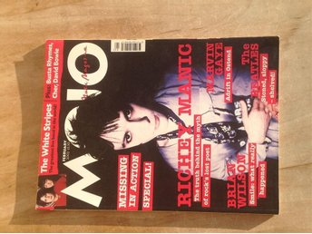 Mojo February 2002 Beatles, Richey Manic, Brian Wilson,Mycket fin! VF