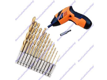 13 st Hex Bits Kit Hex Drill Bit Set Multi Bits Tool 1.5-6.5mm