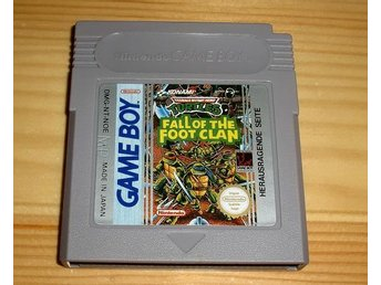 GB: Turtles Fall of the Foot Clan - Karlskoga - GB: Turtles Fall of the Foot Clan - Karlskoga