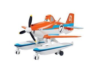 Planes 2 Fire & Resque  Disney Pixar Dusty Pontoon   Metall Originalstorlek