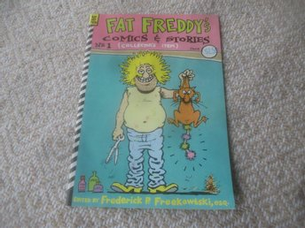 Fat Freddy's Comics & Stories #1, Rip Off Press, 1983