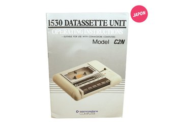 1530 Datassette Operating Instructions (Manual / C64)
