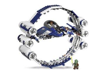 Jedi Starfighter with Hyperdrive B R - LEGO set 7661-1