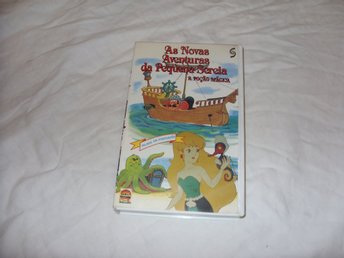 As Novas Aventuras da Pequena Sereia The Little Mermaid Saban VHS PAL Portugal