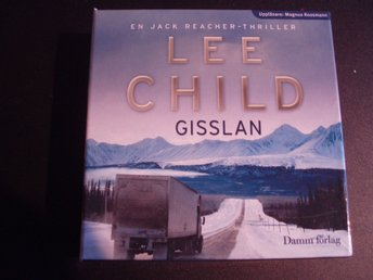 GISSLAN - LEE CHILD,Uppläsare Magnus Roosman,16CD-20tim