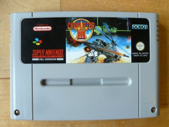Choplifter III (3) - Super Nintendo SNES