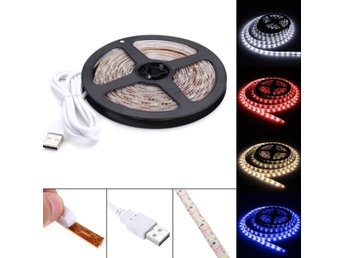 4M Pure White Warm White Red Blue 2835 SMD Waterproof USB...