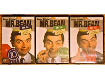**  Mr BEAN  med 3 DVD´s    **