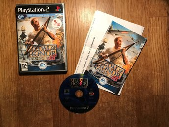 MEDOL OF HONOR RISING SUN PS2 PLAYSTATION 2 OK SKICK SVENSK TEXT I SPELET