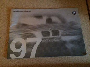 BMW Modellprogram 1997