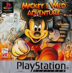 PS1 - Mickeys Wild Adventure *
