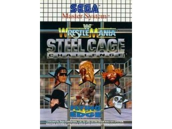 Wrestlemania Steel Cage Challenge - Master System
